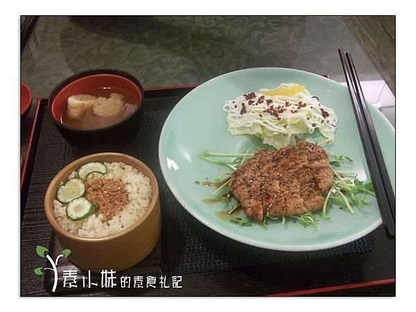 鳴月藍帶珠排飯 鳴月慢活空間蔬食  台中素食蔬食食記 拷貝
