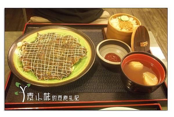 日式大阪燒 鳴月慢活空間蔬食  台中素食蔬食食記 拷貝