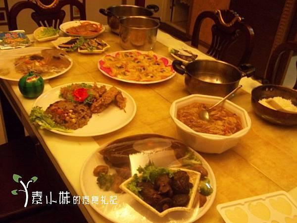 過年合菜 天恩素食 台中素食蔬食食記 拷貝