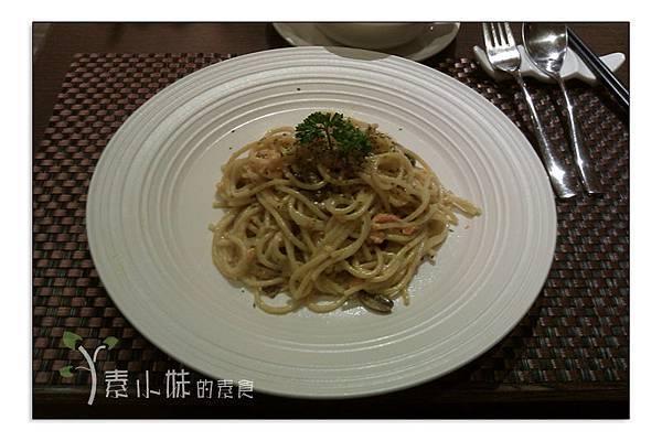 明太子義大利麵 淨慈湧創意蔬食料理 台北市大安區素食蔬食食記 拷貝
