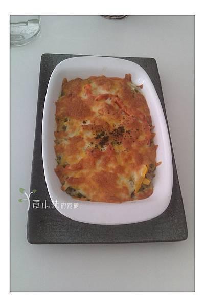 青醬蘿勒焗烤飯 UGE 咖啡UGE CAFE 蔬食 台中素食蔬食食記 拷貝