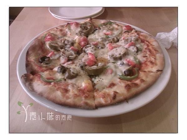 嗆辣墨西哥披薩  Pizza dall' orto 歐透手工鮮蔬披薩 台中素食蔬食食記 拷貝