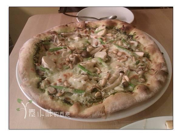青醬松子披薩  Pizza dall' orto 歐透手工鮮蔬披薩 台中素食蔬食食記 拷貝