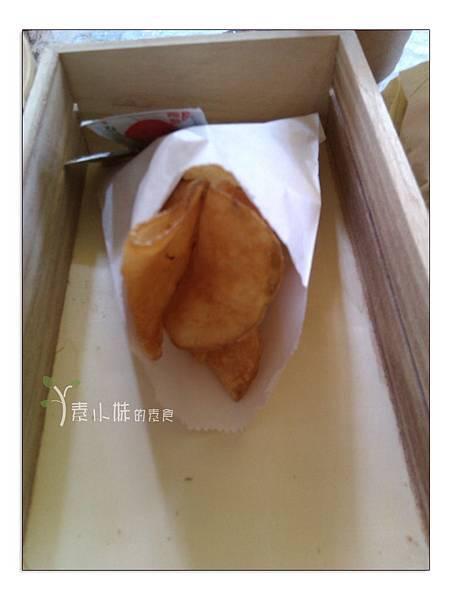 薯片法米蘭漢堡 台中素食蔬食食記 拷貝