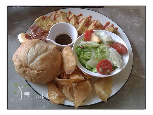 起士培根玉子燒 澄石蔬食咖啡廚坊chensveg cafe kitchen 台中素食蔬食食記