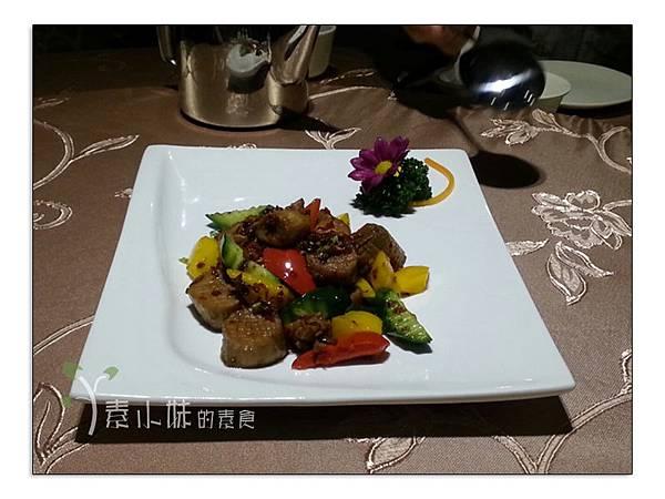 XO醬炒搖柱 棗子樹蔬食餐廳 港式飲茶 台中西區素食蔬食食記