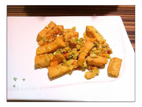 金沙豆腐 棗子樹蔬食餐廳 港式飲茶 台中西區素食蔬食食記