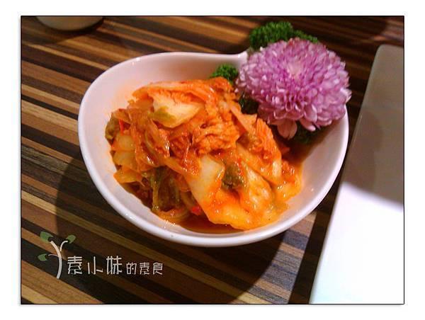 韓式泡菜 棗子樹蔬食餐廳 港式飲茶 台中西區素食蔬食食記