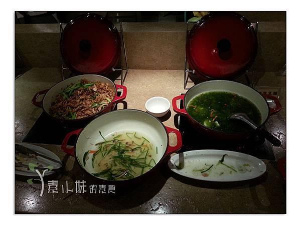 熟食區 原素食府 時尚素食自助百匯吃到飽 新北市板橋區素食蔬食食記 (3)