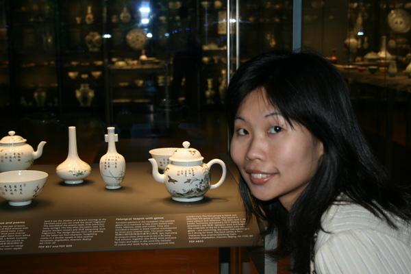漂亮的小茶壺