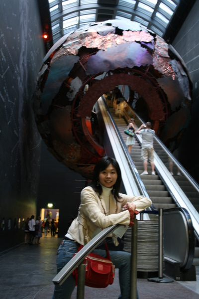 in Natural history museum