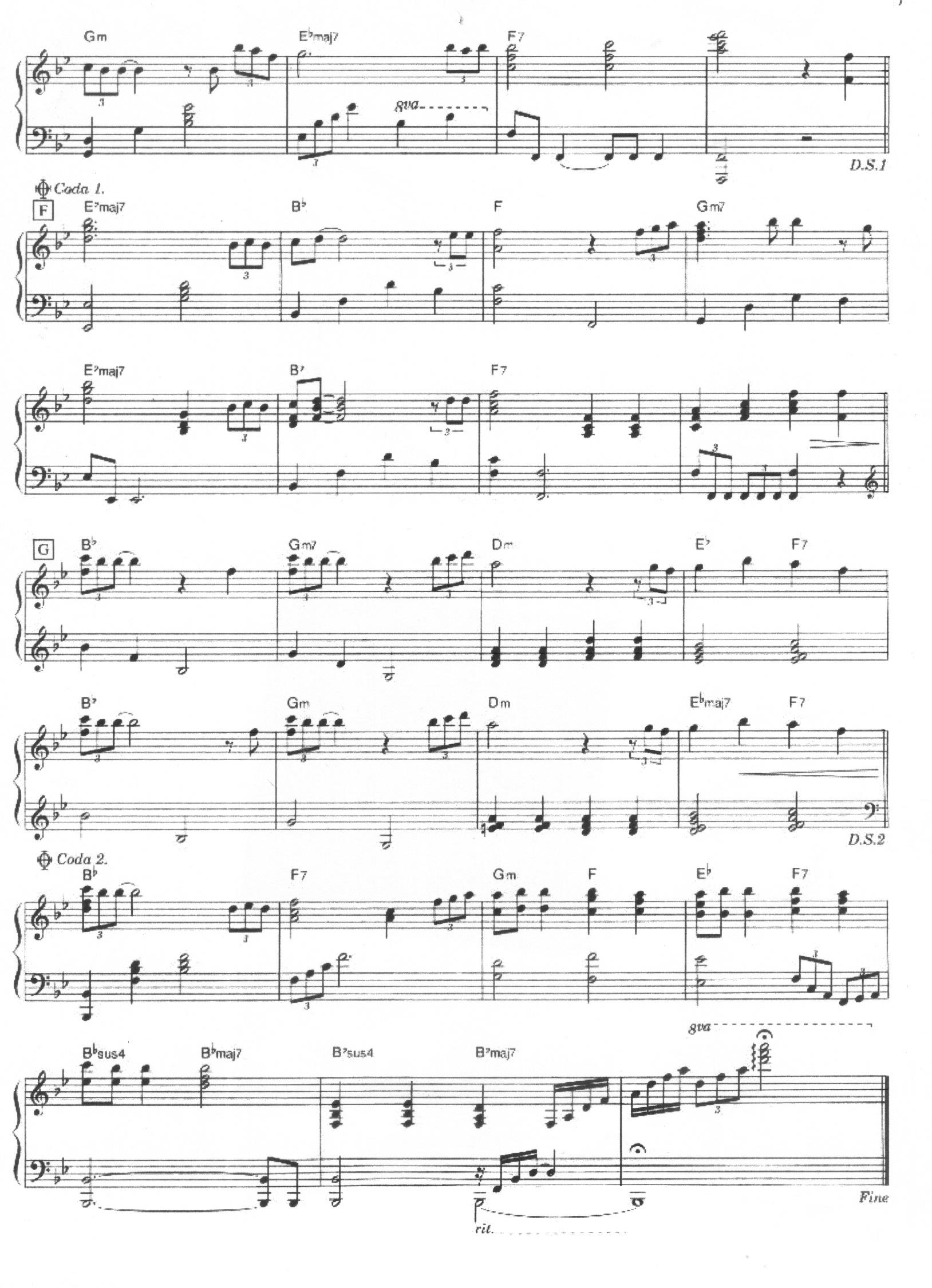 Forever Love piano solo p4