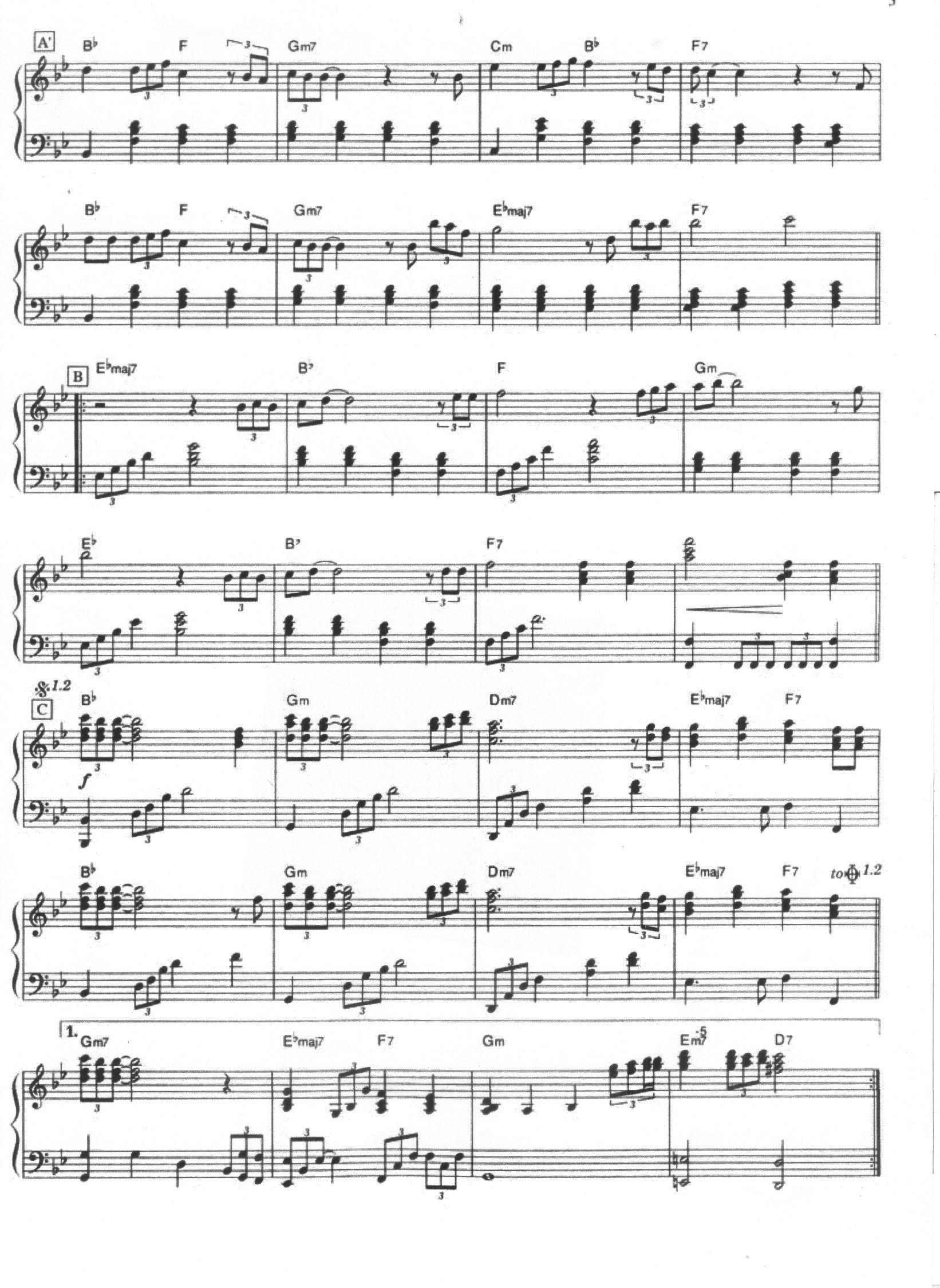 Forever Love piano solo p2