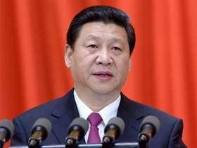 習近平昨在北京接見新黨主席郁慕明等台灣統派團體。翻自網路
