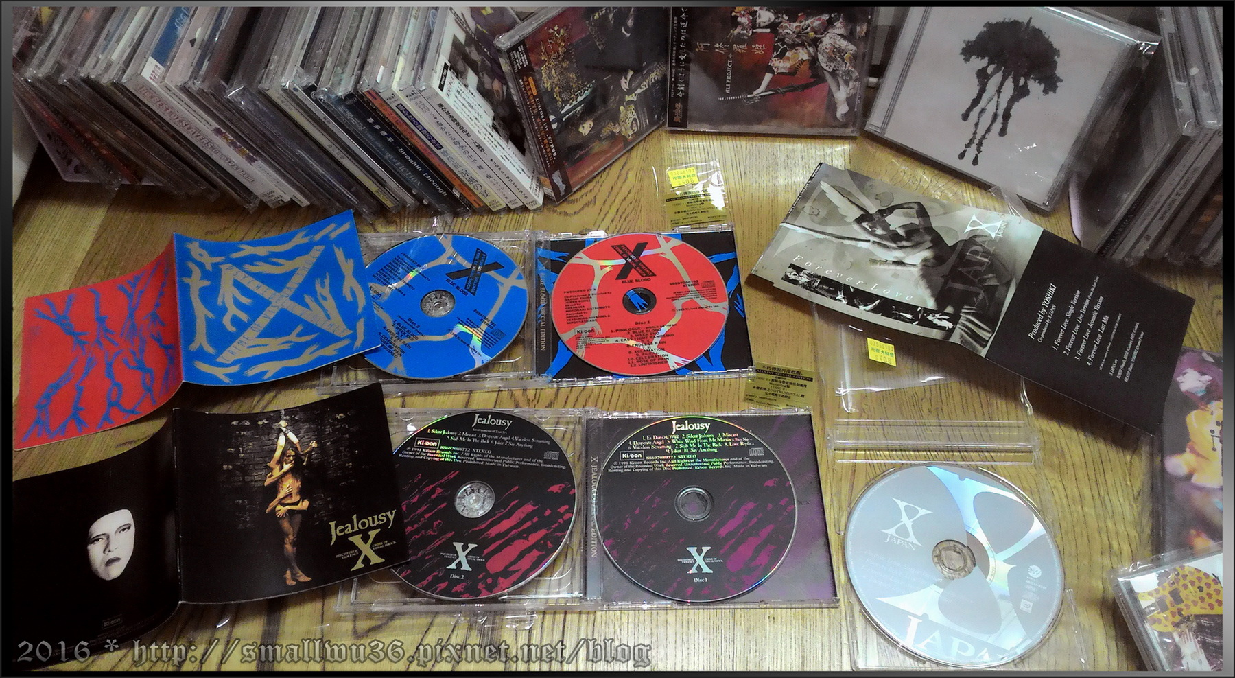 X JAPAN - 藍血 BLUE BLOOD (2CD)/Jealousy (2CD) SPECIAL EDITION