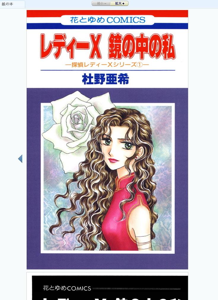 レディーX 鏡の中の私 -神林&キリカシリーズ番外編- (花とゆめコミックス) .jpg