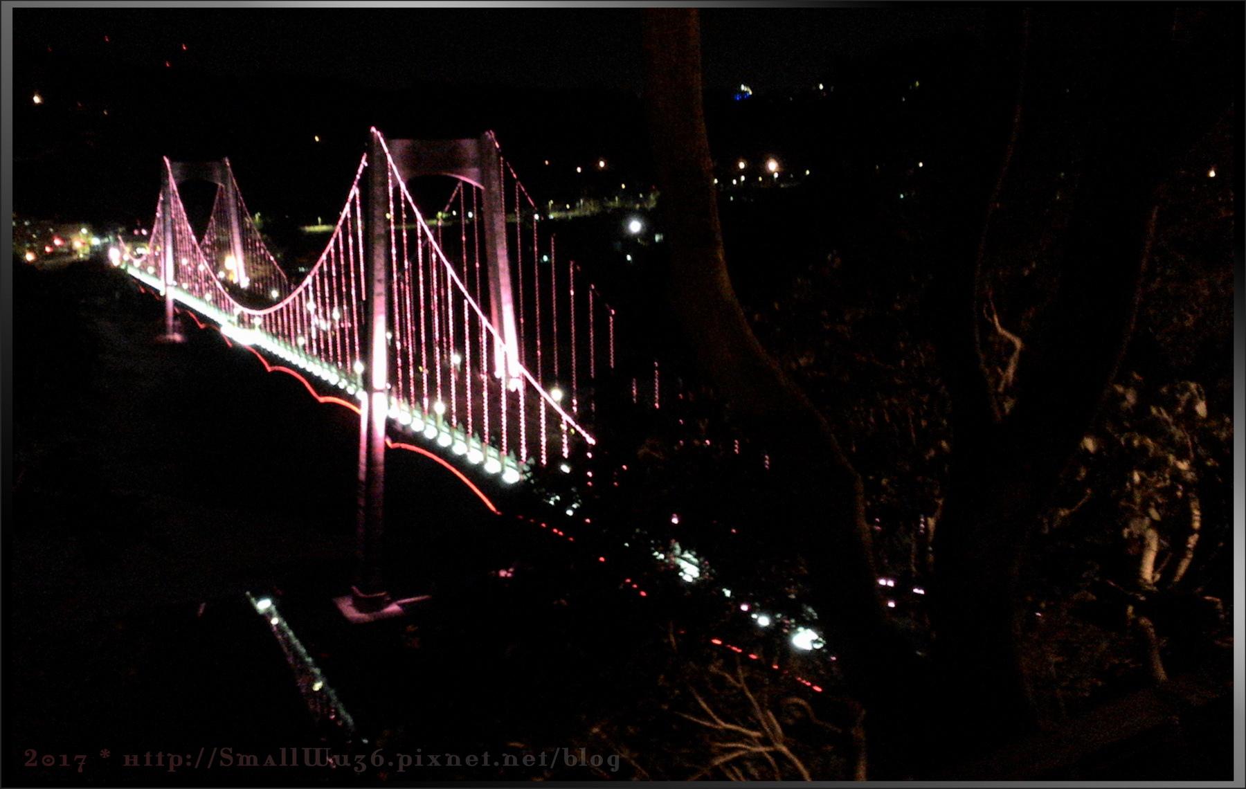 桃園 大溪橋夜景 2017