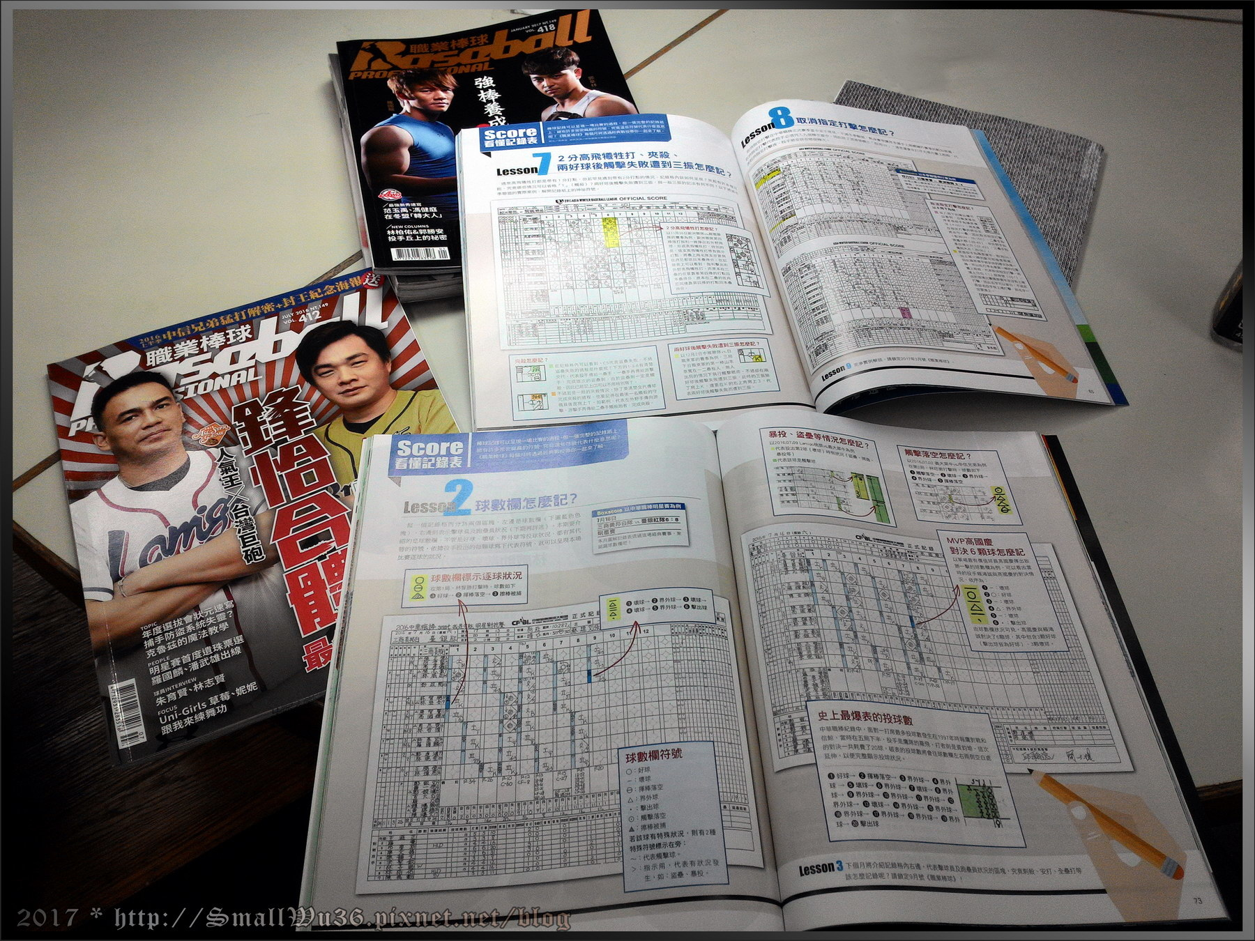 [中職雜誌] 職業棒球月刊 棒球紀錄法教學-001.jpg