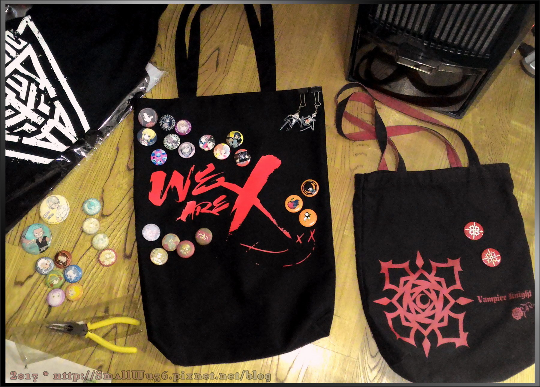 X JAPAN 紀錄片電影<We Are X>台灣上映 紀念帆布包開箱XD-05.jpg