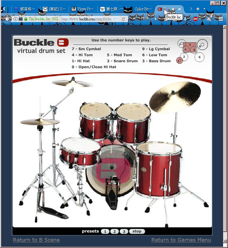 022 Buckle - Virtual drum set 線上虛擬爵士鼓組.png