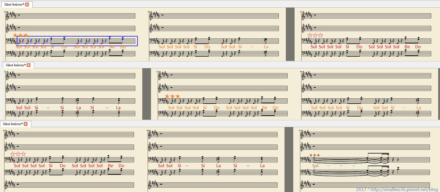 使用 MuseScore 轉 midi - 002 吉他B旋律