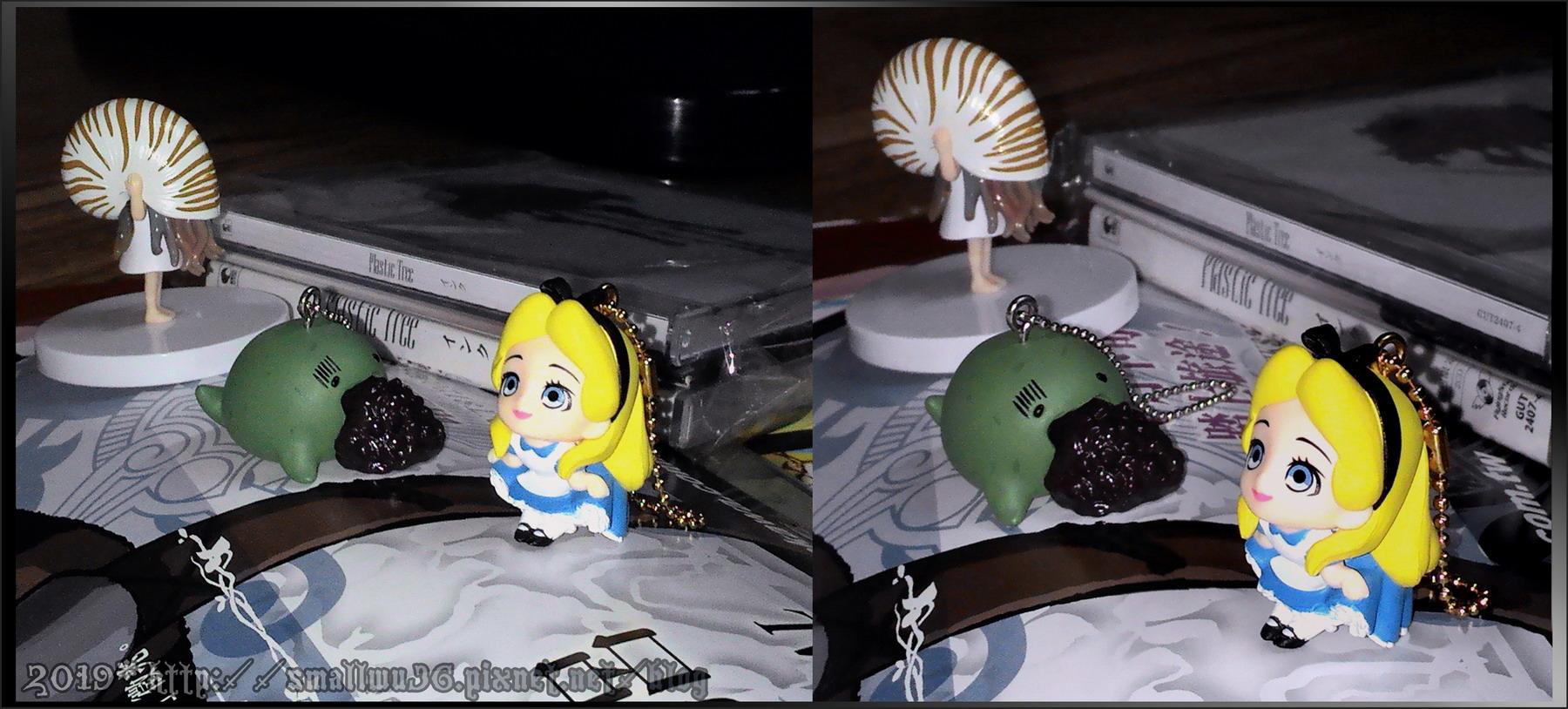 迪士尼-愛麗絲扭蛋, よもぎ嘔吐紅豆扭蛋.jpg