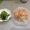 醃小黃瓜+涼拌洋蔥