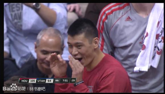 比自己命中還雀躍的Lin