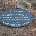Exeter的早晨-The City Wall.JPG