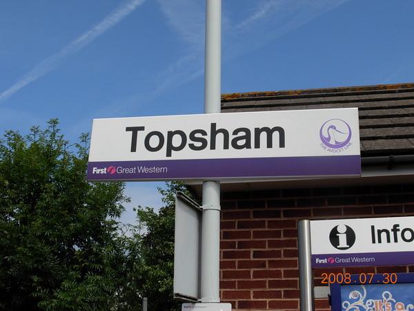 D5去喝下午茶-Topsham車站.JPG