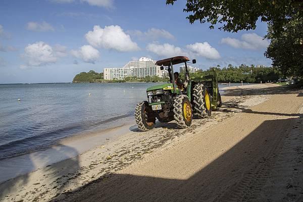 關島聖塔菲的沙灘