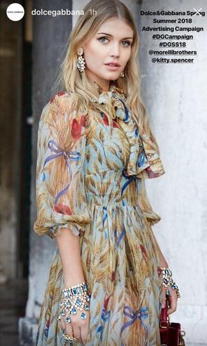 Lady-Kitty-Spencer-Dolce-Gabbana-