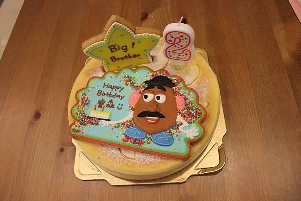 2歲生日蛋糕