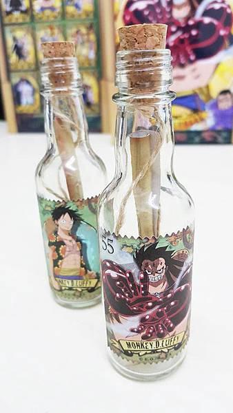 5.5貝里魯夫紀念瓶 %26; 55貝里霸氣化四檔魯夫紀念瓶