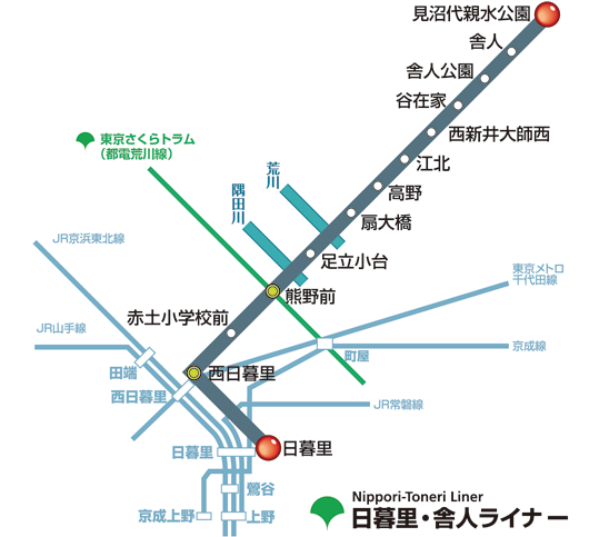 日暮里・舎人ライナー路線圖.png