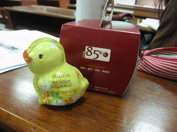 ※ 07.03-  學弟送蛋糕-開心開心
