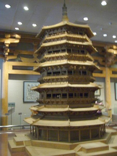 很多很多層的塔