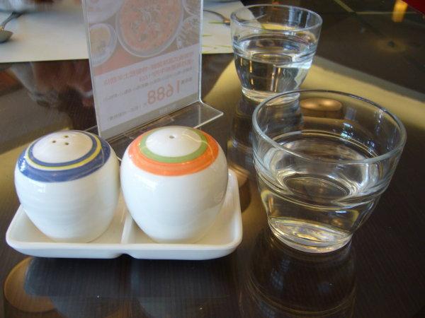 胡椒粉+鹽罐 檸檬水