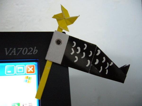 鯉魚旗折紙