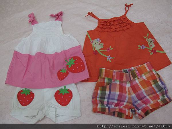 6.3 Gymboree 草莓&無尾熊套裝