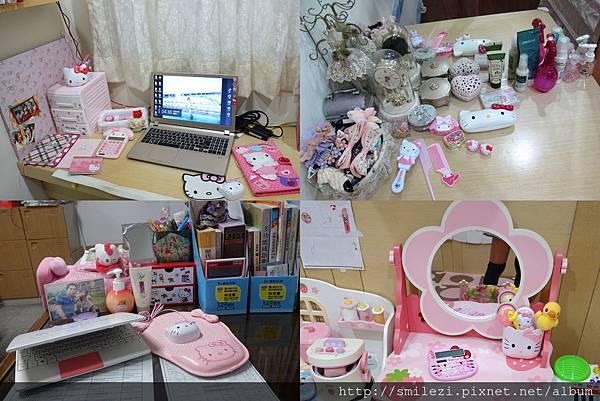 103.7.16 打造一個Kitty的夢想窩~書桌&梳妝台篇