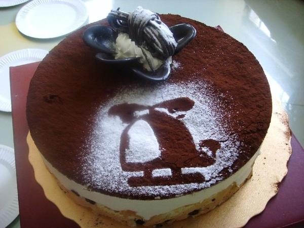 3月壽星惠琪的蛋糕