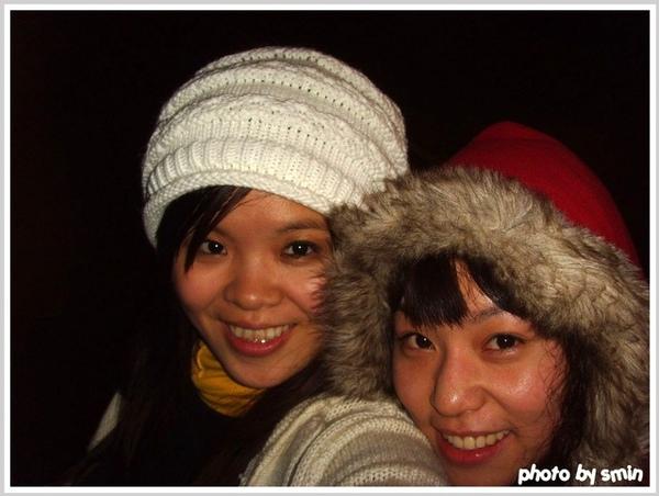 這天很冷!
