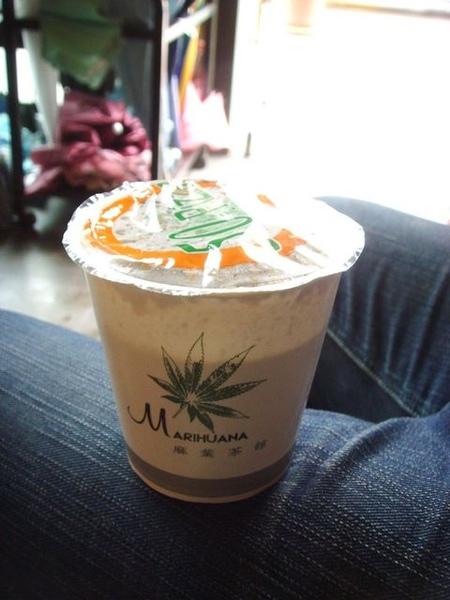 超好喝麻葉奶茶