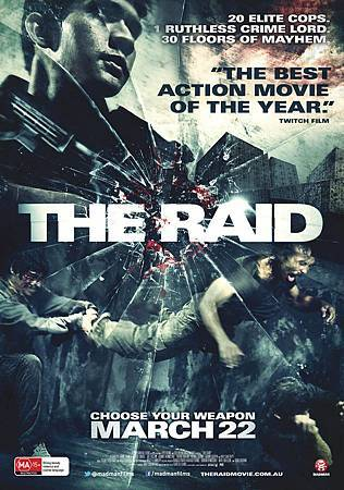 The Raid_Poster_MM