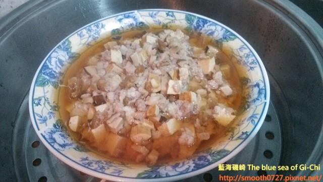 香菇蔭瓜蒸肉