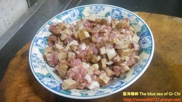 香菇蔭瓜蒸肉1