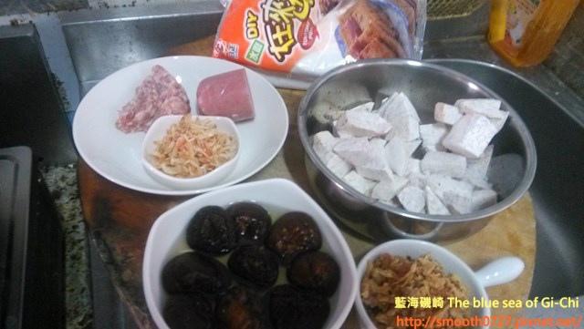 古早味櫻花蝦芋頭糕1