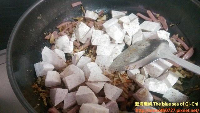 古早味櫻花蝦芋頭糕5