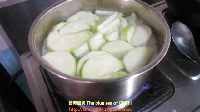 干貝絲瓜粥